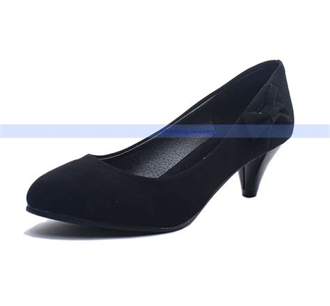 comfortable black pumps fashion comfortable black velvet pumps classic high heel