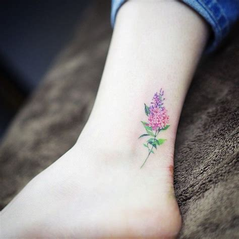 dainty flower tattoo 25 best ideas about lilac on lavender