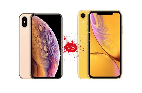 what s the difference between iphone xr and xs zendure
