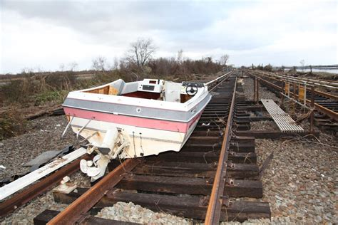 tracker boats wiki file boat on subway tracks after hurricane sandy vc jpg