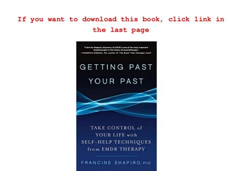 emdr therapy learn to your past present and future books audiobook getting past your past take of your