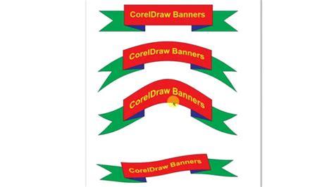 banner designing  corel draw youtube