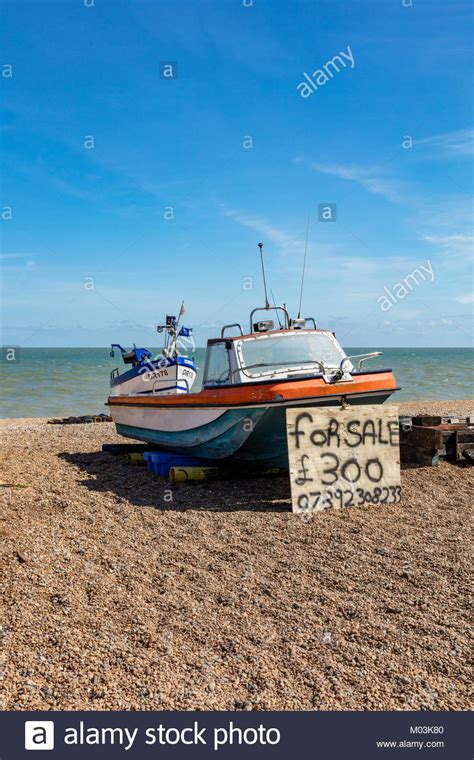 fishing boats for sale kent uk a small fishing boat hauled up on the beach at deal in