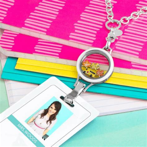 back to school origami lanyard locket for only 24 origami owl lockets