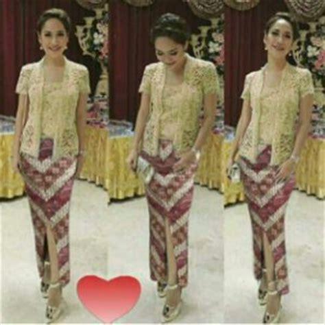 Baju Batik Dengan Rok baju kebaya desain modern model terbaru murah ryn fashion