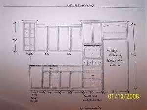 anyone not counter depth refrigerator pics