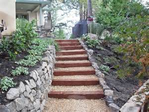 garden stairs landscape steps and pathway and retaining wall traditional landscape san francisco by