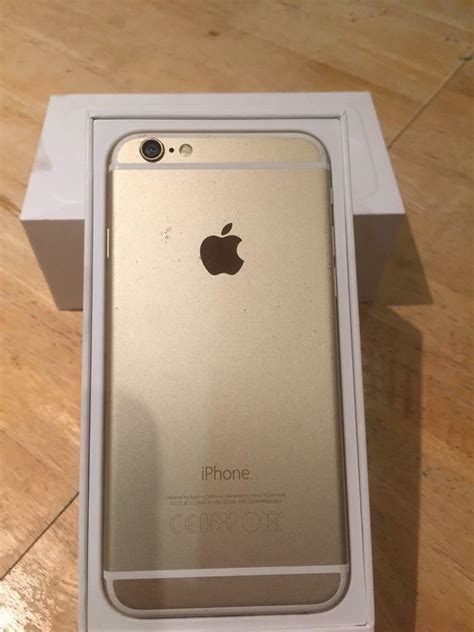 iphone 6 32gb gold in plymouth gumtree
