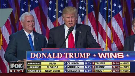donald trump s unthinkable election speech donald trump wins 2016 presidential election youtube
