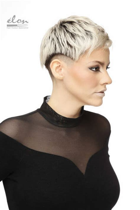pixie cut with shaved sides 22 pixie cuts cute hairstyle ideas for 2017
