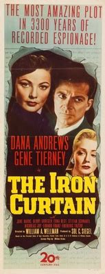 the iron curtain movie the iron curtain 1948 movie poster 730394