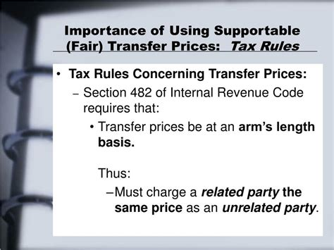 irc section 482 transfer pricing ppt chapter 8 powerpoint presentation id 391451