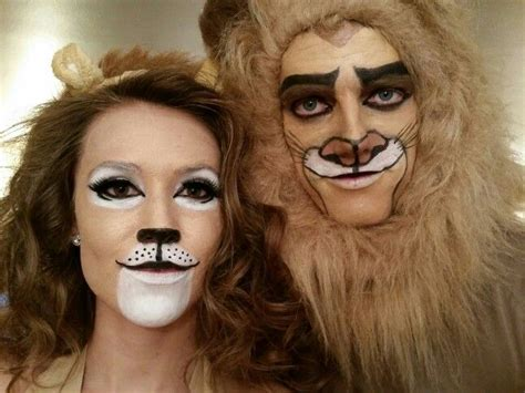 nala lion king makeup did my sister and her boyfriends makeup for halloween