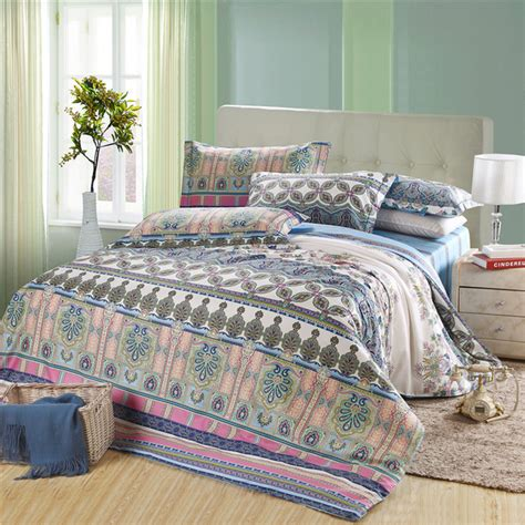 boho king size bedding promotion american style exotic boho bedding set queen