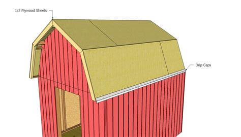Shed Roofing Sheets by Barn Shed Plans Howtospecialist How To Build Step By
