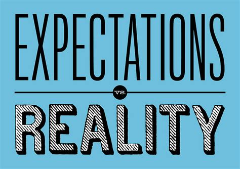 A Word On Reality by Expectations Vs Reality Quitting My To Start An