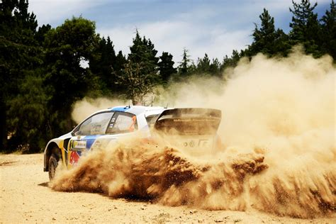 volkswagen polo wrc rally car ancestor white speed drift