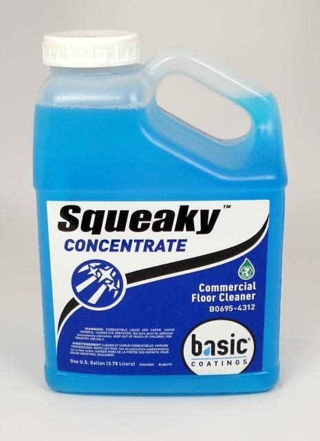 Basic Coatings Squeaky Hardwood Floor Cleaner Concentrate