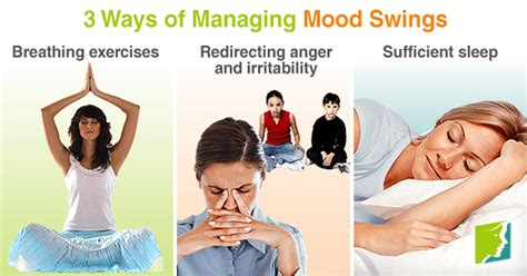 stress and mood swings 3 ways of managing mood swings