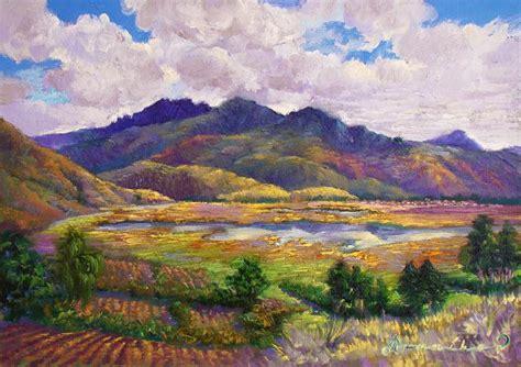 imagenes de paisajes andinos paisajes andinos del cusco pinturas al oleo efrain