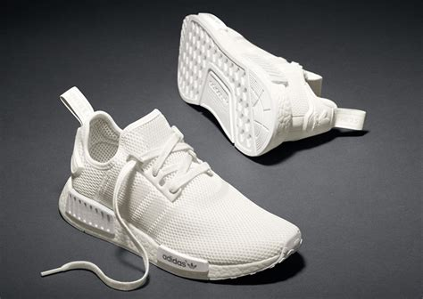 Adidas Nmd R2 Primeknit Bred White Premium Original 1 white adidas nmd sole collector