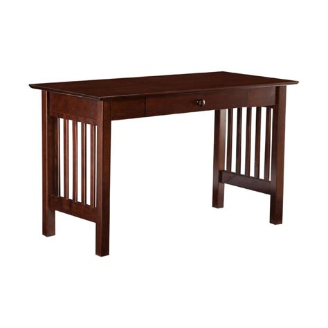 Shop Atlantic Furniture Mission Mission Shaker Writing Mission Desk