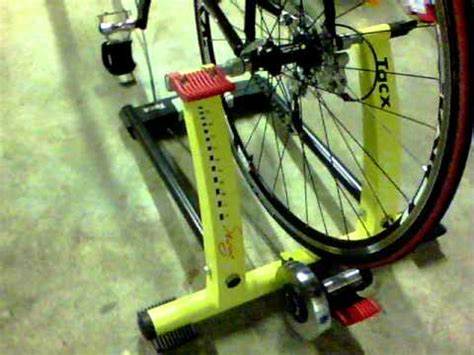 tacx swing trainer mon velo et mon home trainer tacx swing youtube
