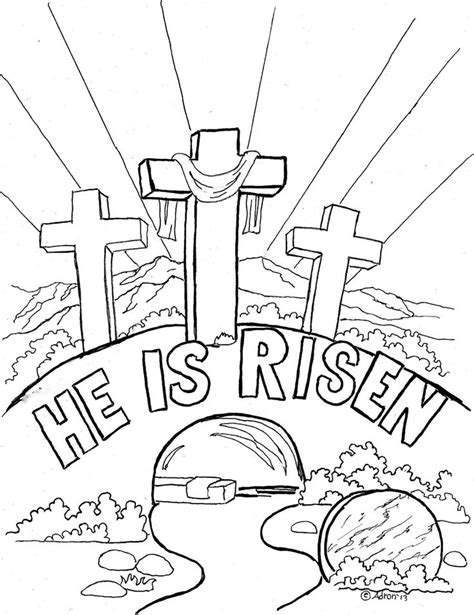 Free Coloring Pages Easter Sunday 1000 Ideas About  sketch template