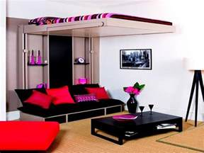 Furniture For Small Rooms by Well Spaced Bedroom Amp Living Room House Interior Design