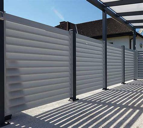 aluminium geländersysteme dekor aluminium zaun