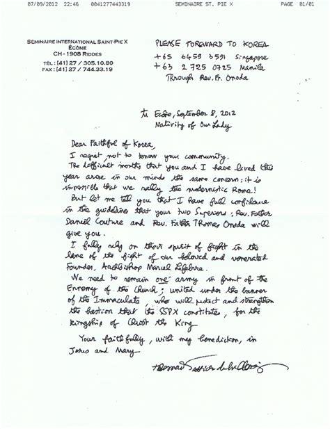 Confirmation Letter Là Gì modele lettre eveque confirmation document