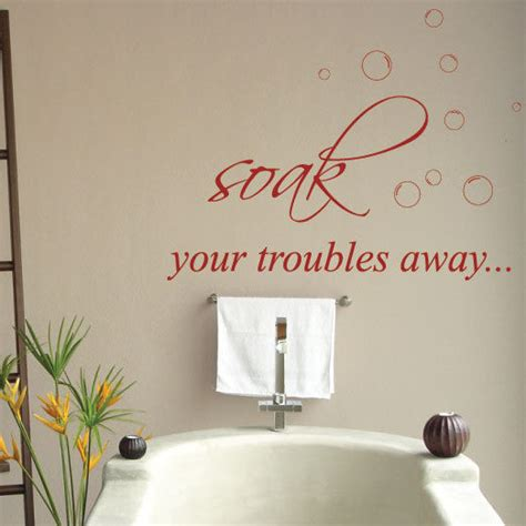 ebay wall stickers quotes quotes lettering bathroom wall stickers wall decals ebay