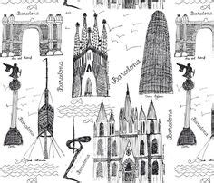 doodle barcelona 1000 images about barcelona drawings illustrations on