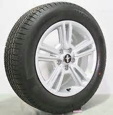 10 11 12 ford mustang v6 gt silver spoke wheels with