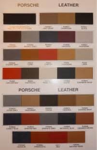 Porsche 944 Interior Color Codes Porsche Paint Color Chart Book Covers