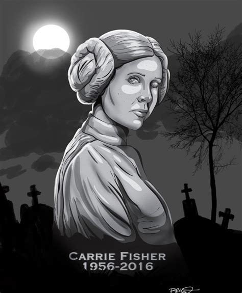 fisher actress died actress carrie fisher dies gravestone cartoon