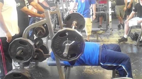 nfl bench press records breaking nfl bench press record 225lbs for 55 reps robert