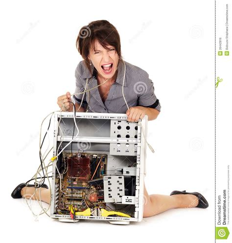 against computer rage against computer stock photo image of angry knees