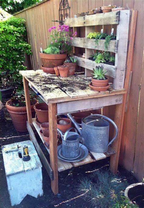 genius ways   pallets   garden page