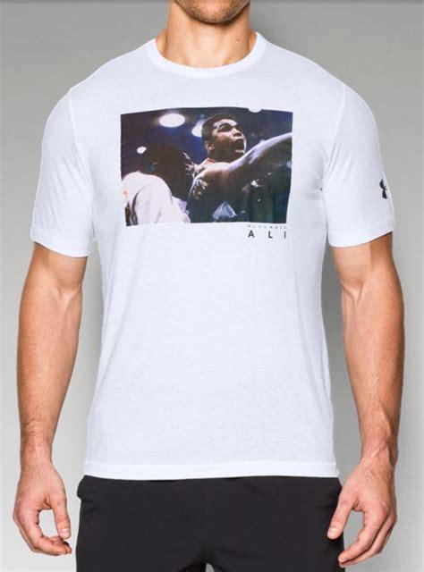 Muhammad Ali Armour Tshirt armour x muhammad ali photoreal t shirts