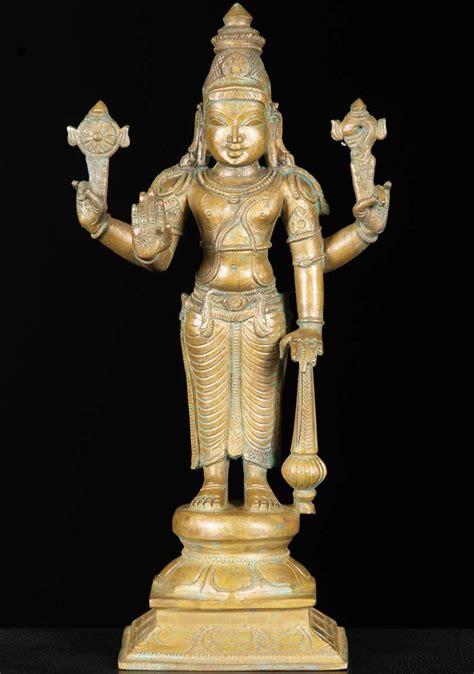 god statue bronze gada vishnu statue 12 quot 74b75b hindu gods