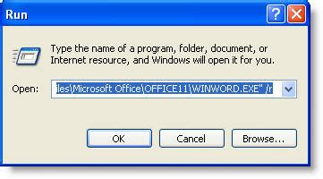 Microsoft Office Client Virtualization Handler by Document Not Found Error