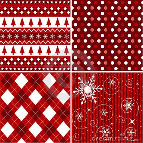 seamless patterns christmas fabric texture stock image