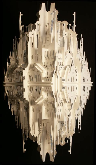 ingrid siliakus beautiful origami architecture of ingrid siliakus 20 pics