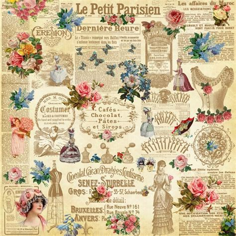 Vintage Decoupage Paper Uk - 17 best ideas about decoupage paper on free