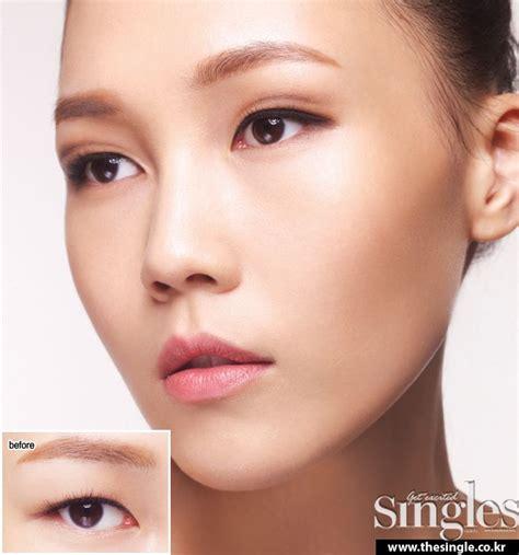 eyeliner tutorial for double eyelids 33 best images about korean makeup tutorials on pinterest