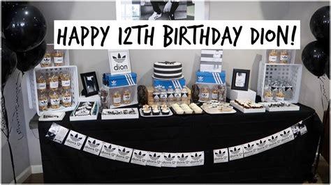 themes adidas clock adidas themed birthday party may 7 2017 youtube