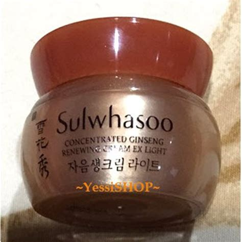 Sulwhasoo Ginseng Ex sulwhasoo concentrated ginseng renewing ex light 5ml