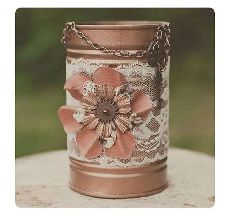 Tin Vases Wedding by 17 Best Ideas About Tin Can Centerpieces On Tin Can Decorations Modern Diy Weddings