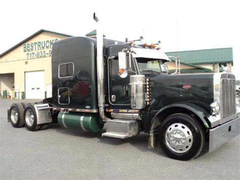 Peterbilt Single Axle Sleeper by Used Freightliner Trucks And Tractors For Sale Penske Used